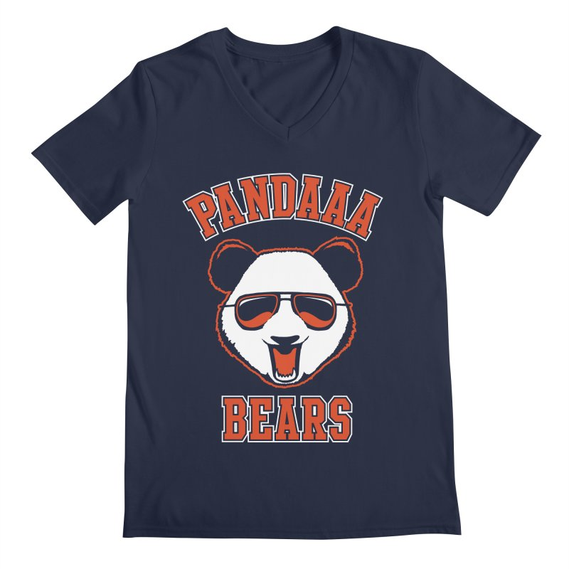 PanDAAA Bears Men's Regular V-Neck by Teeframed