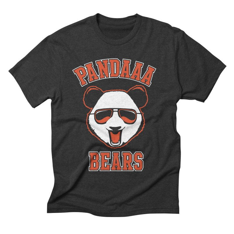 PanDAAA Bears Men's Triblend T-shirt by Teeframed