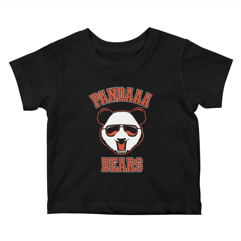 PanDAAA Bears Kids Baby T-Shirt by Teeframed
