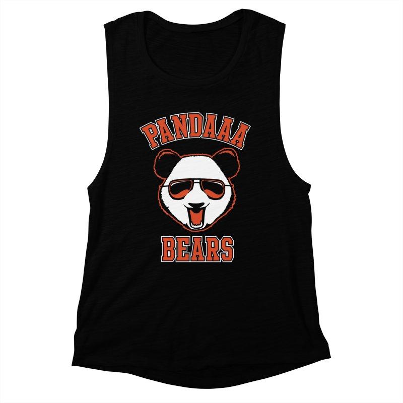 PanDAAA Bears Women's Muscle Tank by Teeframed