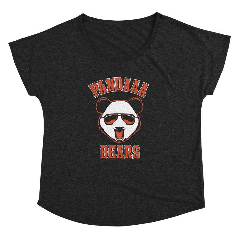 PanDAAA Bears Women's Dolman Scoop Neck by Teeframed