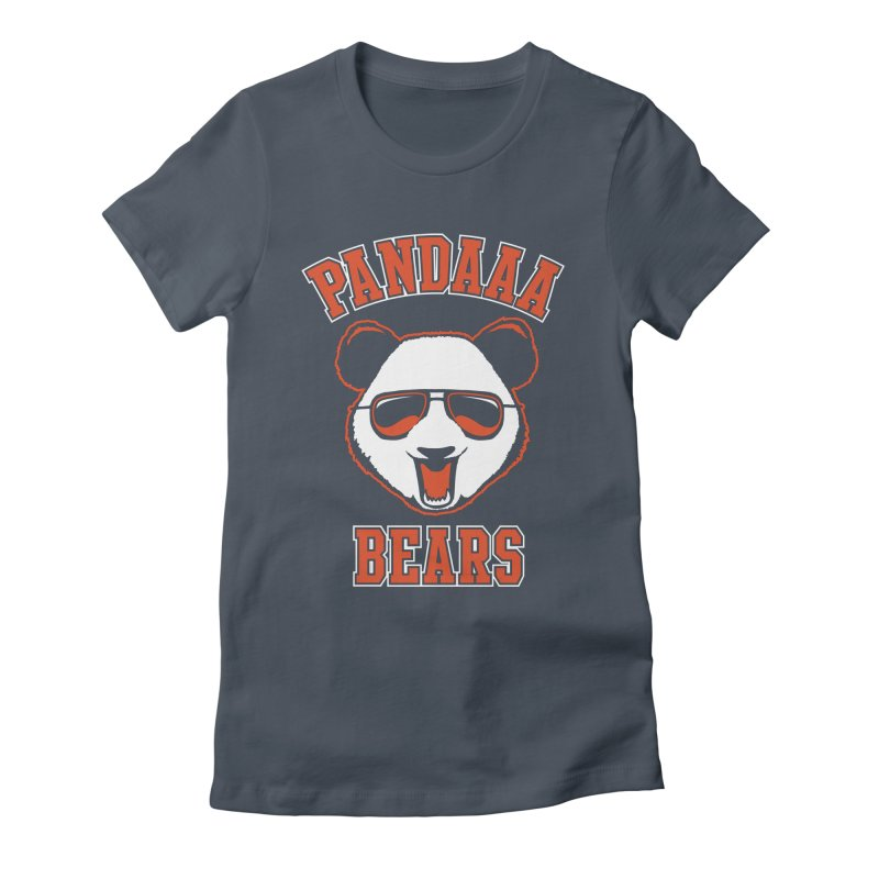 PanDAAA Bears Women's Fitted T-Shirt by Teeframed