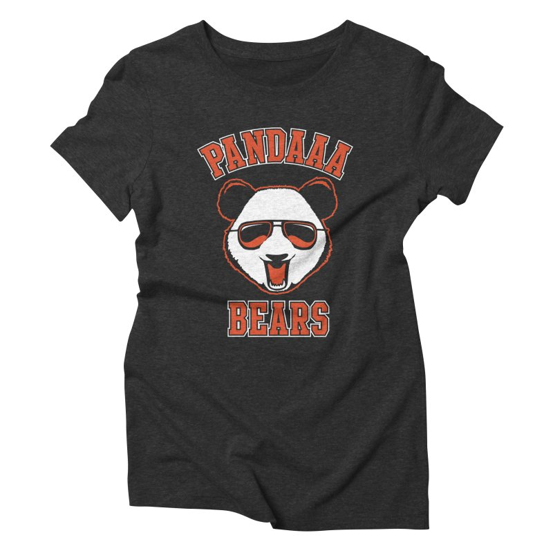 PanDAAA Bears Women's Triblend T-shirt by Teeframed