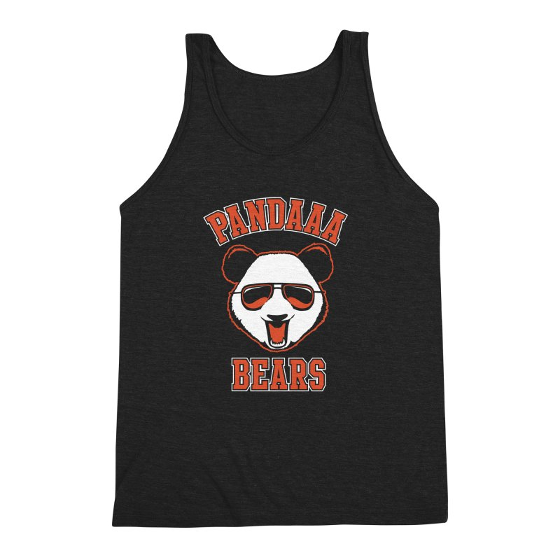 PanDAAA Bears Men's Triblend Tank by Teeframed