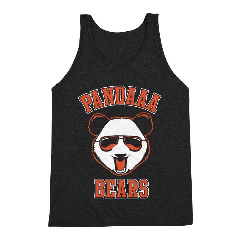 PanDAAA Bears Men's Triblend Tank by Teeframed