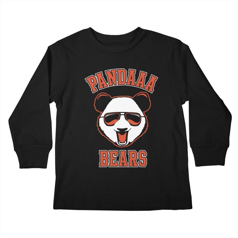 PanDAAA Bears Kids Longsleeve T-Shirt by Teeframed