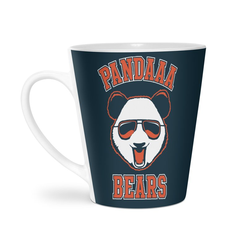 PanDAAA Bears Accessories Latte Mug by Teeframed