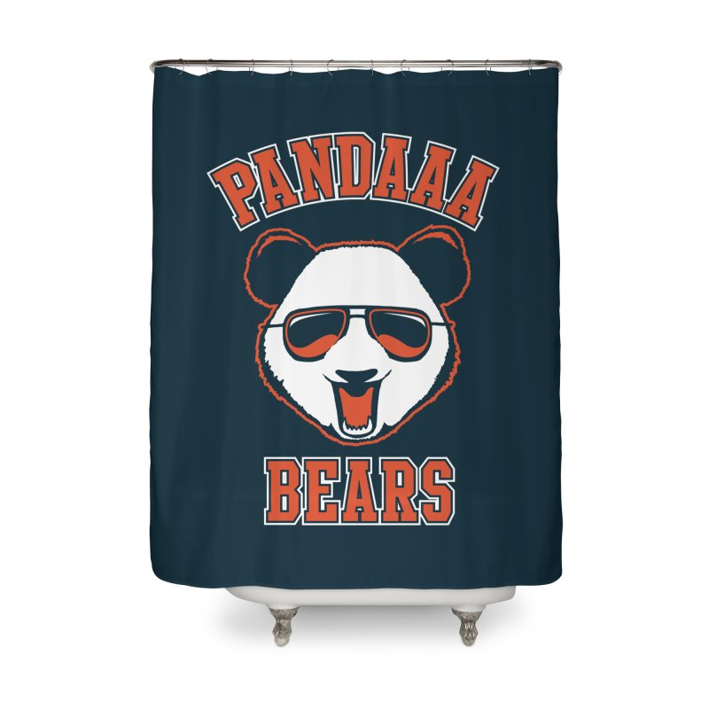 PanDAAA Bears Home Shower Curtain by Teeframed