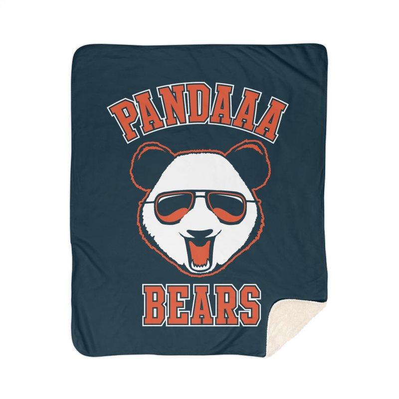 PanDAAA Bears Home Sherpa Blanket Blanket by Teeframed