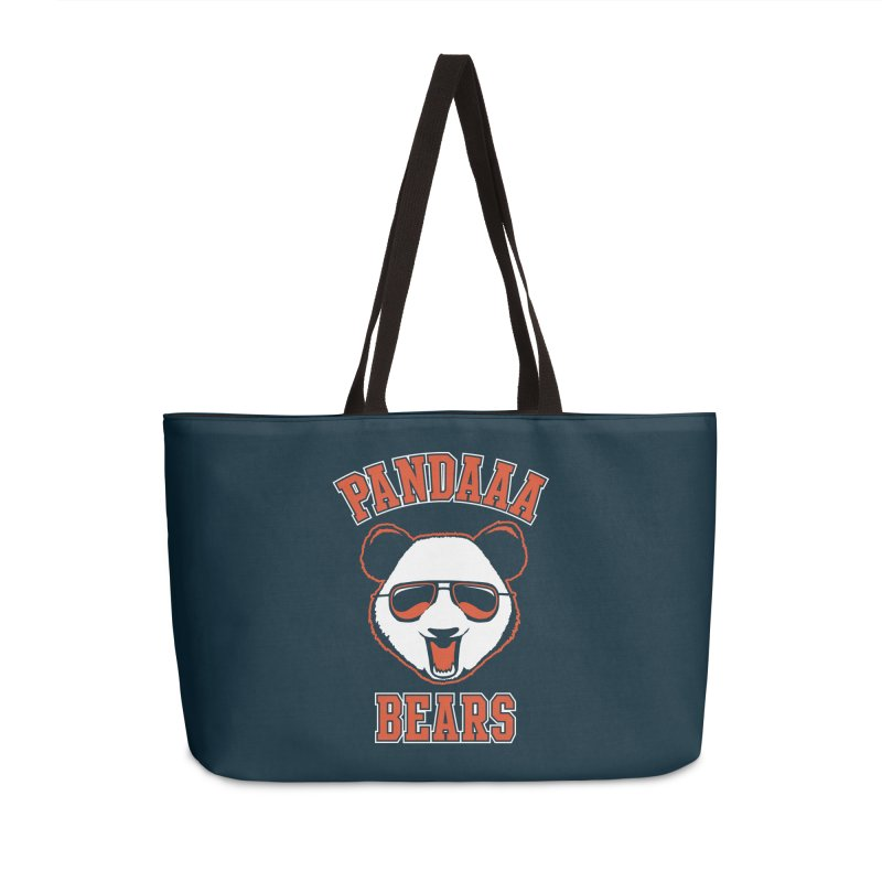 PanDAAA Bears Accessories Weekender Bag Bag by Teeframed