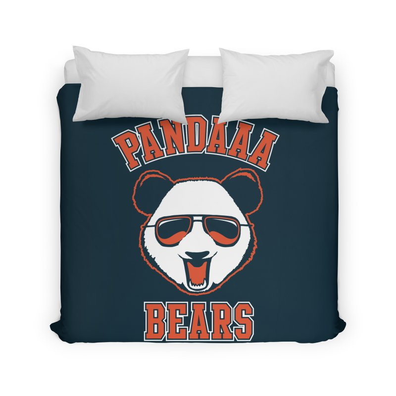 PanDAAA Bears Home Duvet by Teeframed