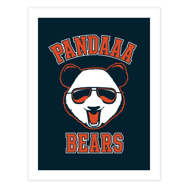 PanDAAA Bears Home Fine Art Print by Teeframed