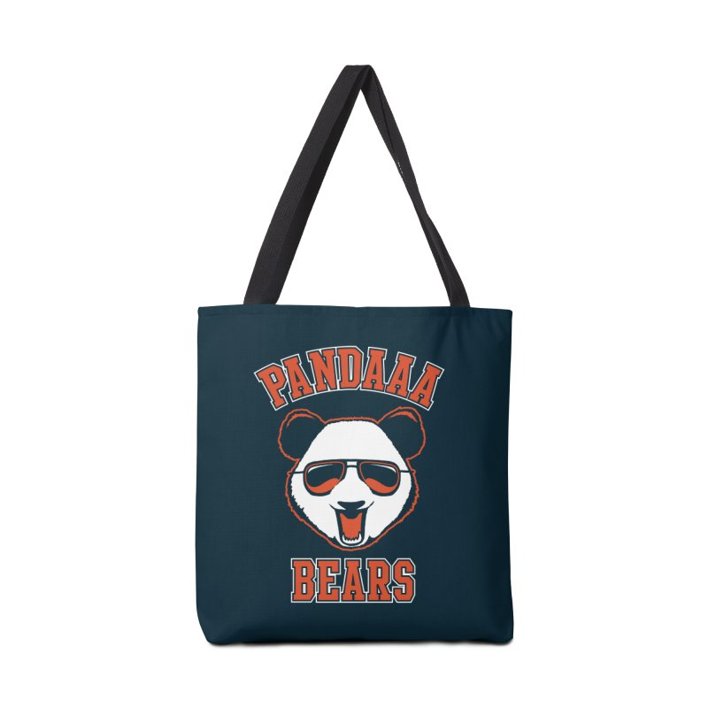 PanDAAA Bears Accessories Bag by Teeframed