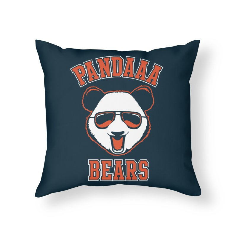 PanDAAA Bears Home Throw Pillow by Teeframed