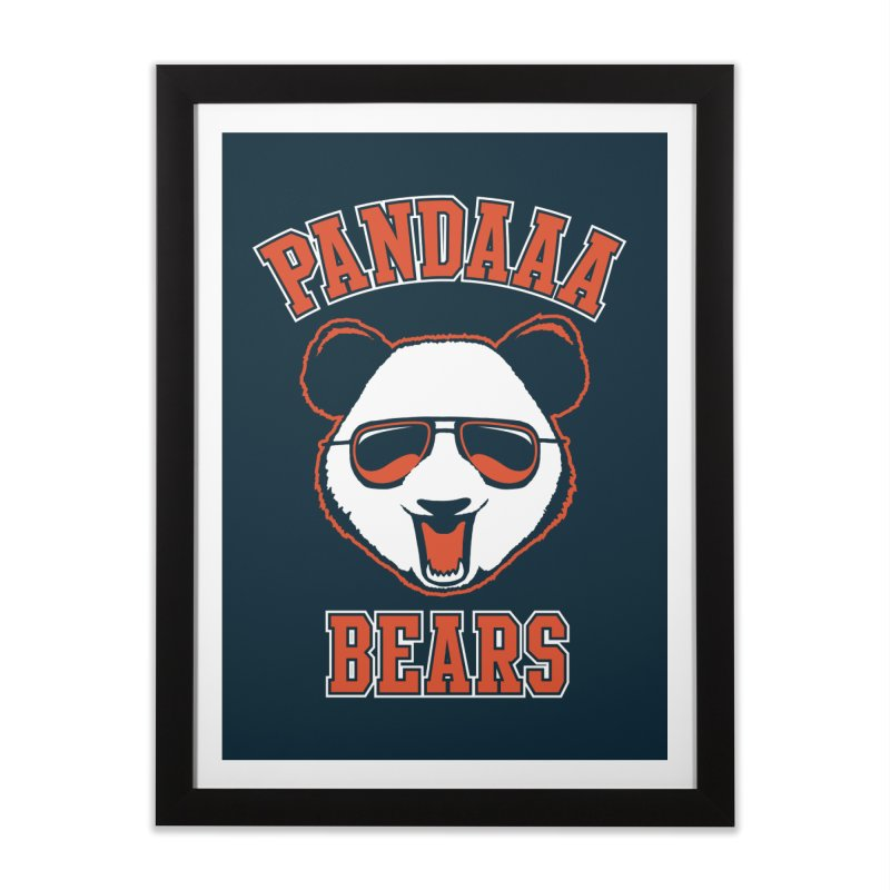 PanDAAA Bears Home Framed Fine Art Print by Teeframed