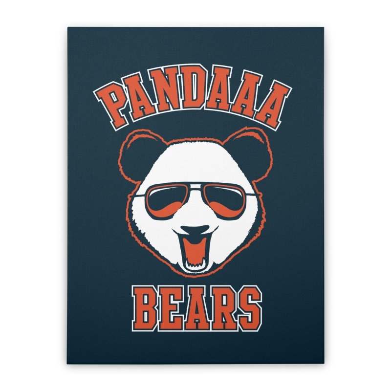 PanDAAA Bears Home Stretched Canvas by Teeframed