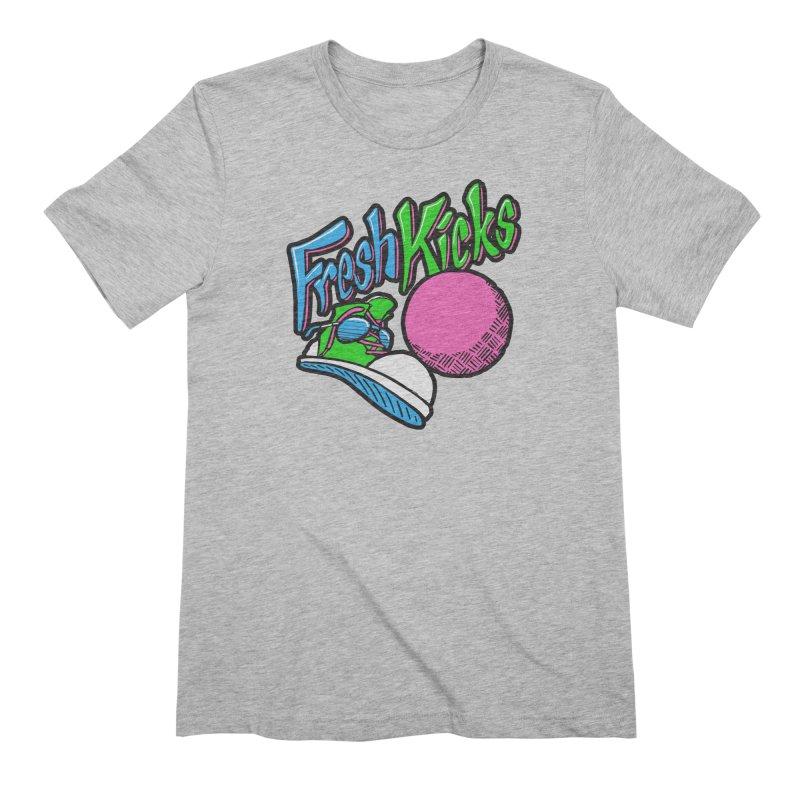 Fresh Kicks 01 Men's T-Shirt by Teeframed