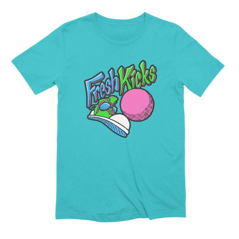 Fresh Kicks 01 Men's Extra Soft T-Shirt by Teeframed