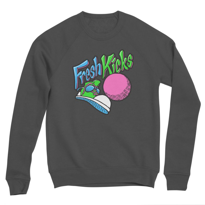 Fresh Kicks 01 Men's Sponge Fleece Sweatshirt by Teeframed