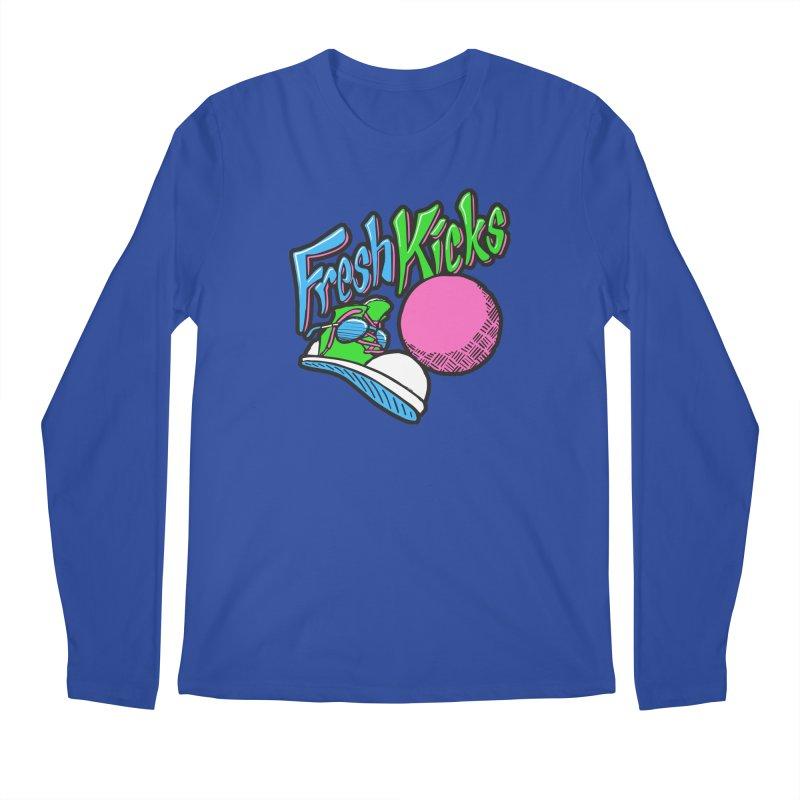 Fresh Kicks 01 Men's Regular Longsleeve T-Shirt by Teeframed