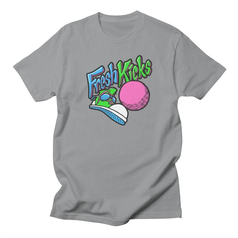 Fresh Kicks 01 Men's Regular T-Shirt by Teeframed