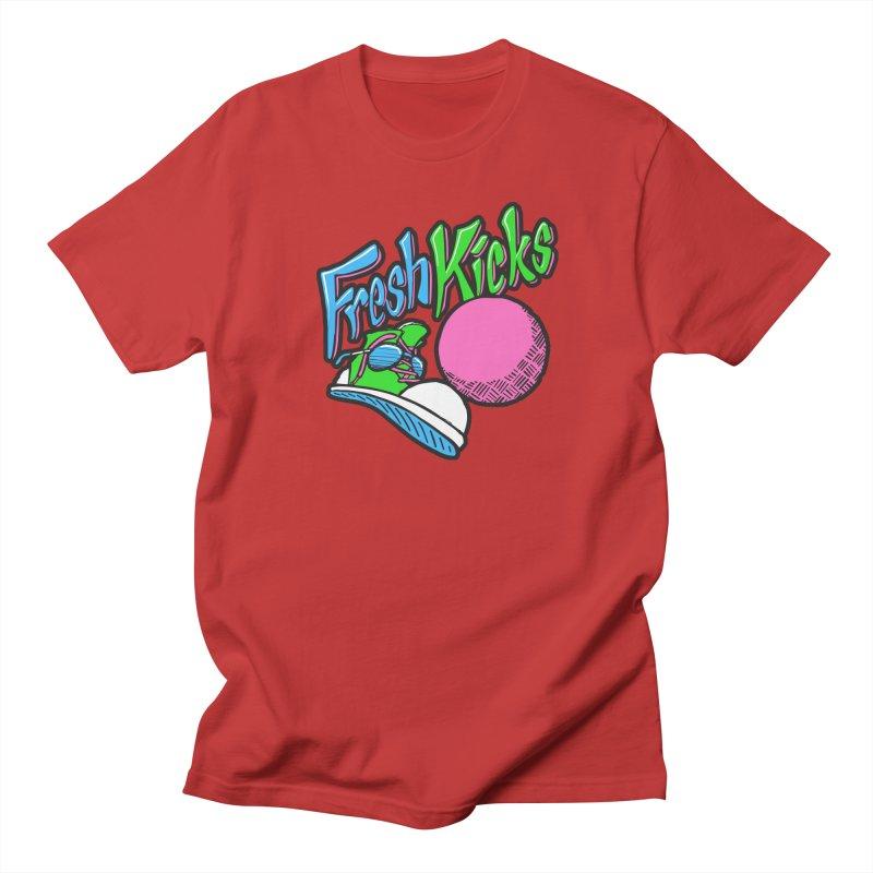 Fresh Kicks 01 Men's Regular T-Shirt by Teeframed