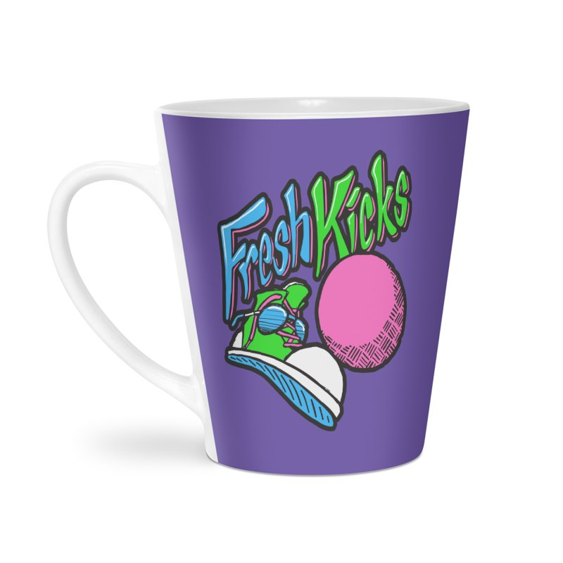 Fresh Kicks 01 Accessories Latte Mug by Teeframed