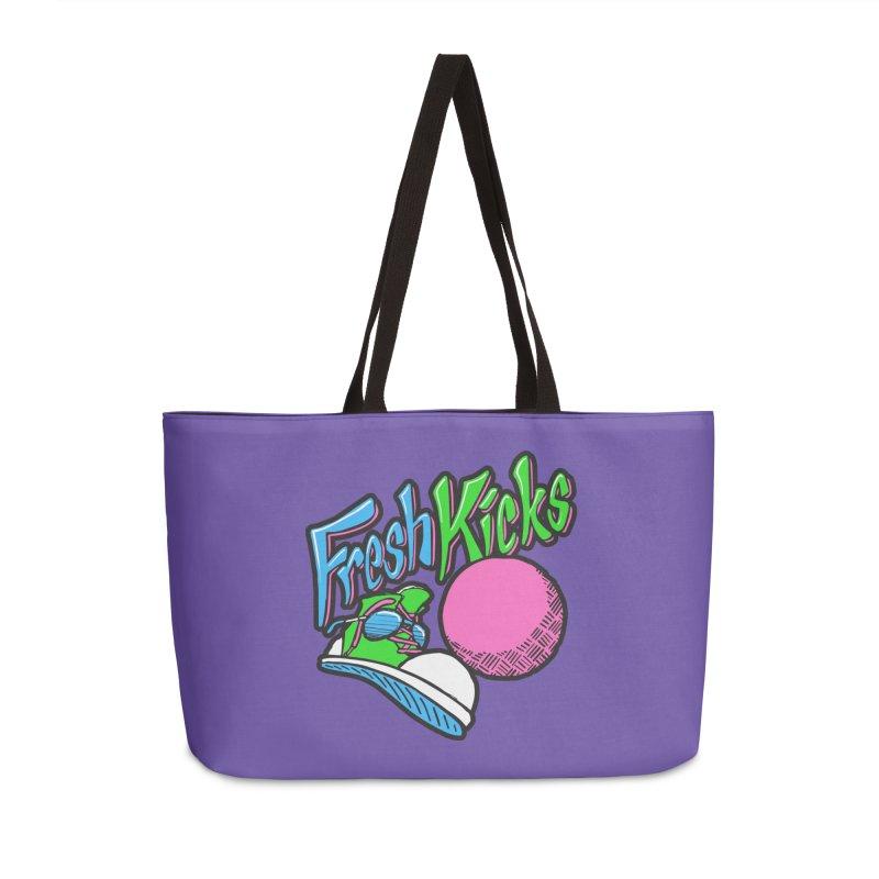 Fresh Kicks 01 Accessories Weekender Bag Bag by Teeframed
