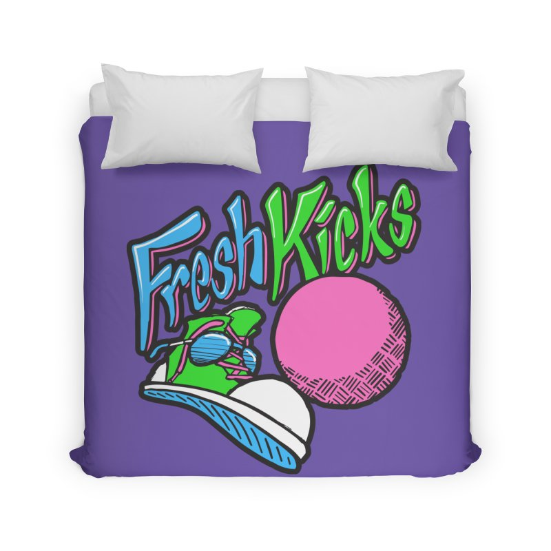 Fresh Kicks 01 Home Duvet by Teeframed