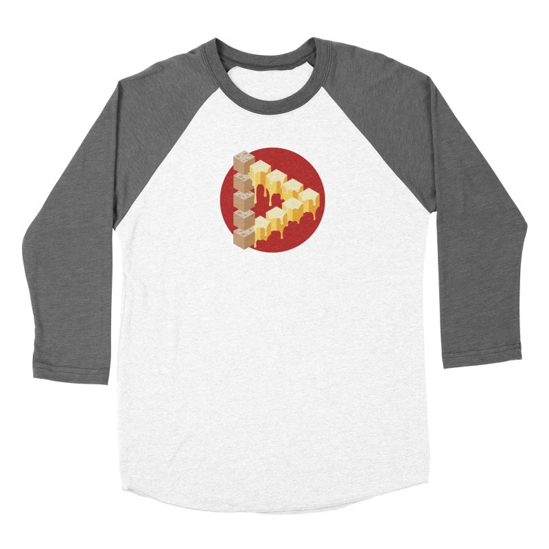 Optical Illusion with Extra Cheese Women's Longsleeve T-Shirt by Teeframed
