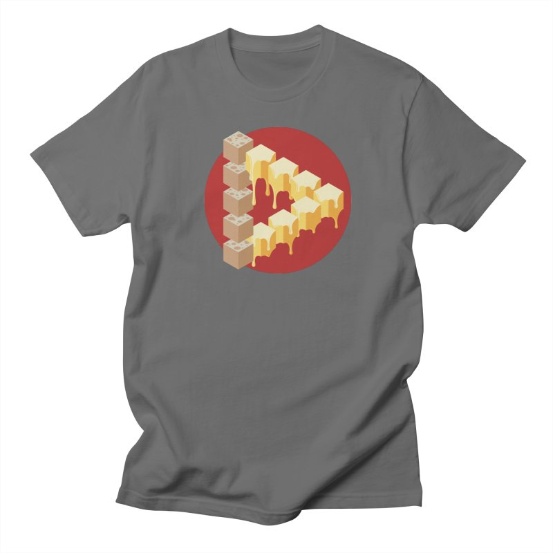 Optical Illusion with Extra Cheese Men's Lounge Pants by Teeframed