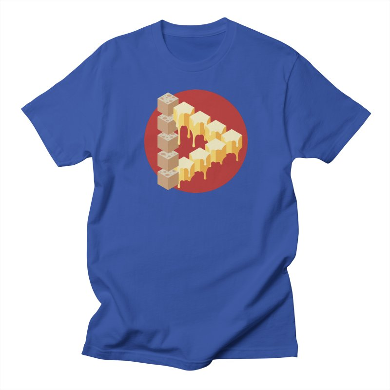 Optical Illusion with Extra Cheese Women's Regular Unisex T-Shirt by Teeframed