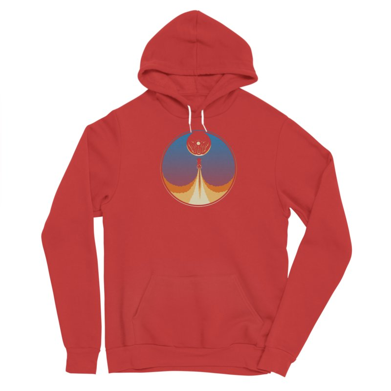 Rocket Launch Men's Pullover Hoody by Teeframed