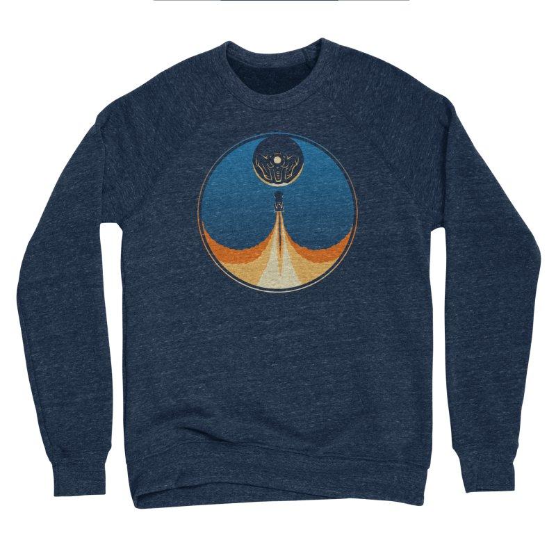 Rocket Launch Men's Sponge Fleece Sweatshirt by Teeframed