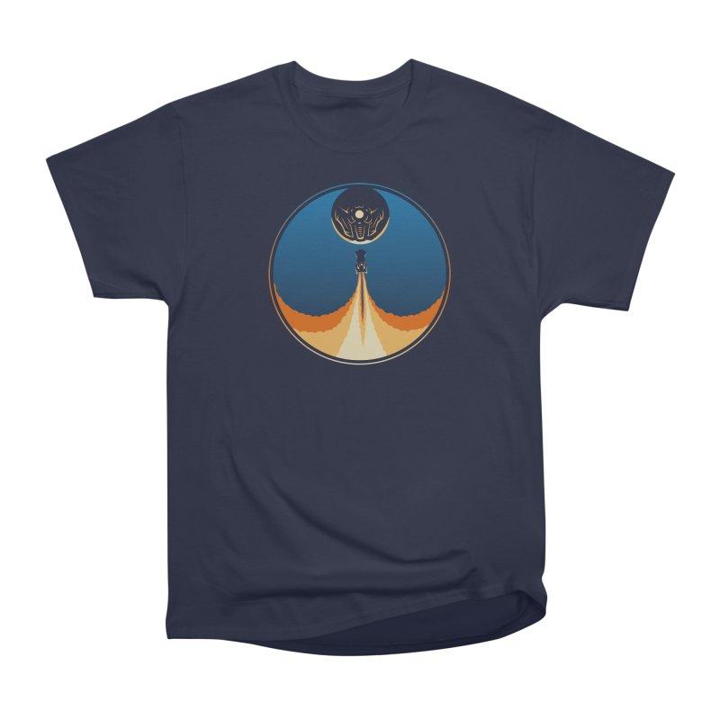 Rocket Launch Men's Heavyweight T-Shirt by Teeframed