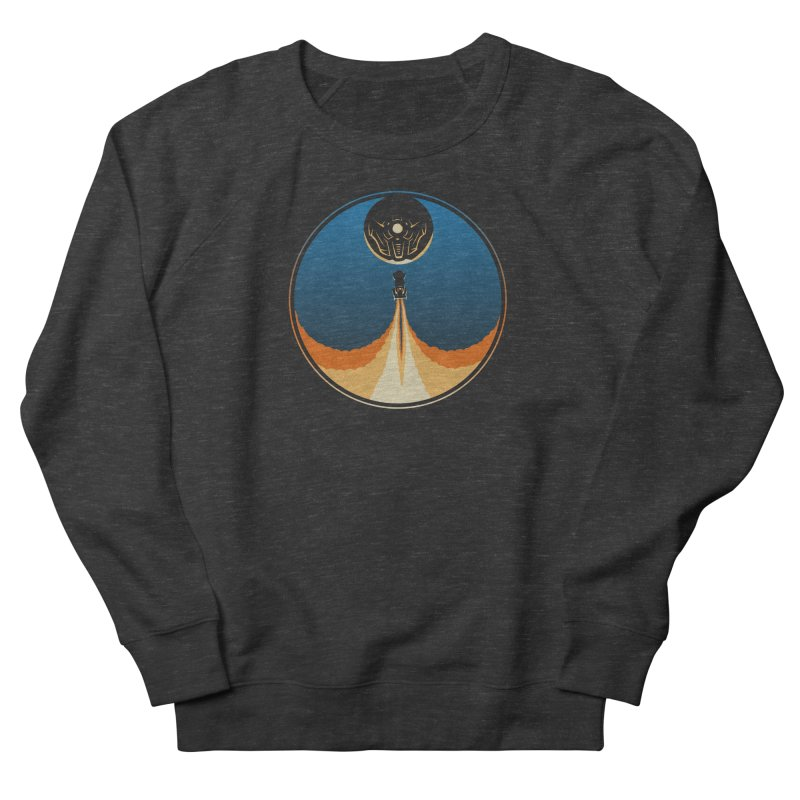Rocket Launch Men's French Terry Sweatshirt by Teeframed