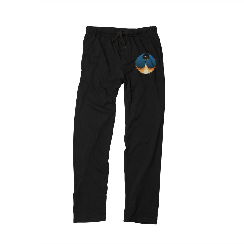 Rocket Launch Men's Lounge Pants by Teeframed