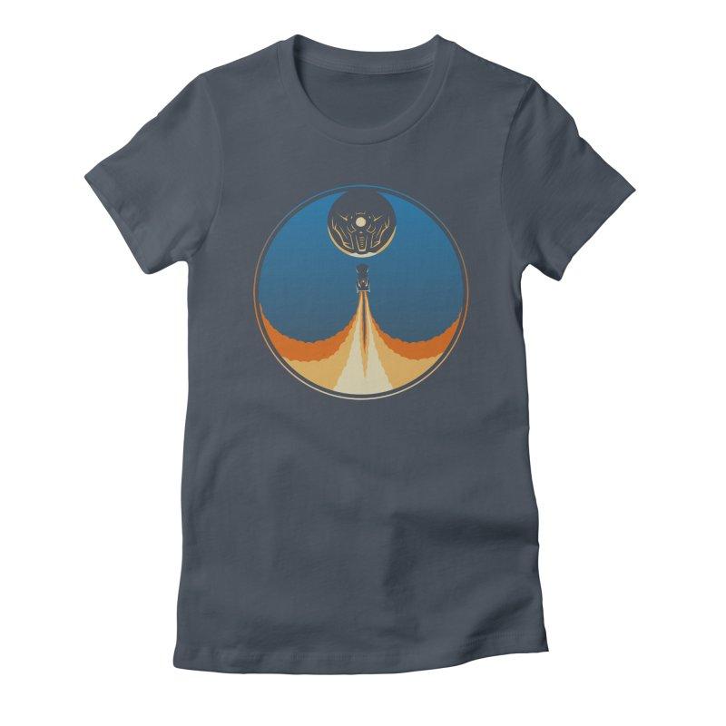 Rocket Launch Women's T-Shirt by Teeframed