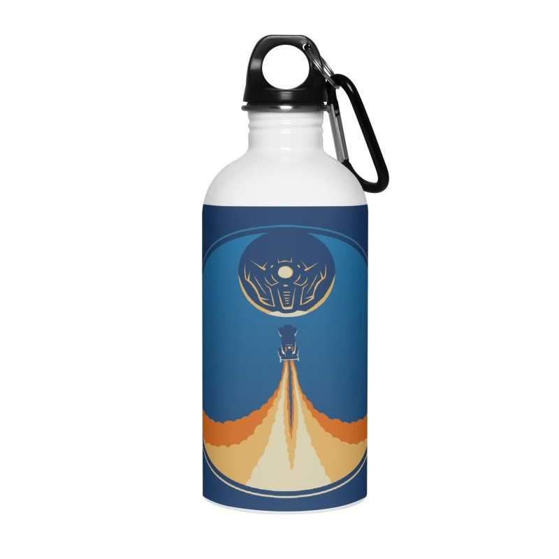 Rocket Launch Accessories Water Bottle by Teeframed
