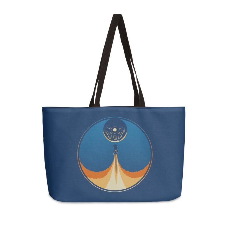 Rocket Launch Accessories Weekender Bag Bag by Teeframed