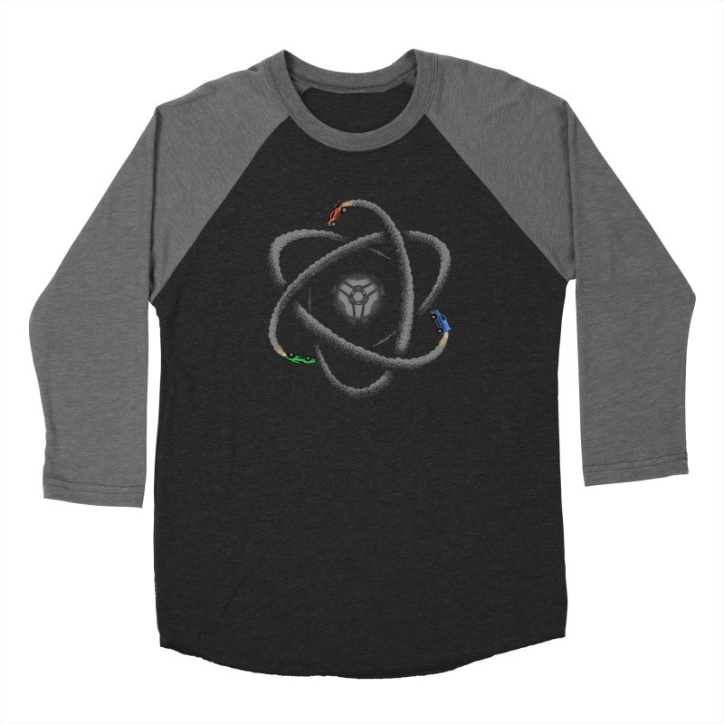 Rocket Science Men's Baseball Triblend Longsleeve T-Shirt by Teeframed