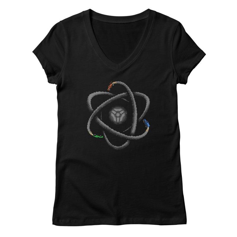 Rocket Science Women's Regular V-Neck by Teeframed