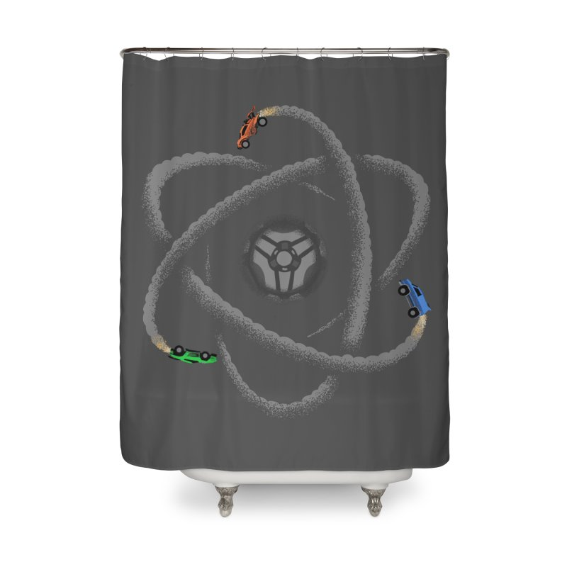 Rocket Science Home Shower Curtain by Teeframed