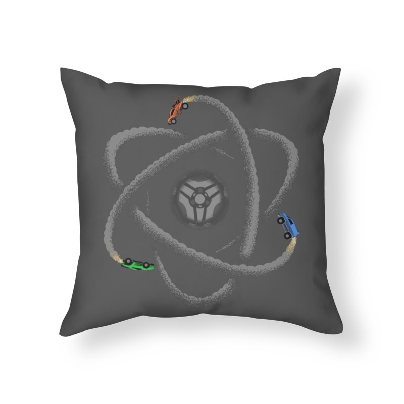 Rocket Science Home Throw Pillow by Teeframed