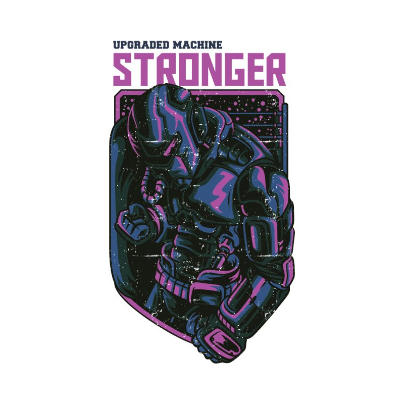Stronger Robot by teelity's Shop