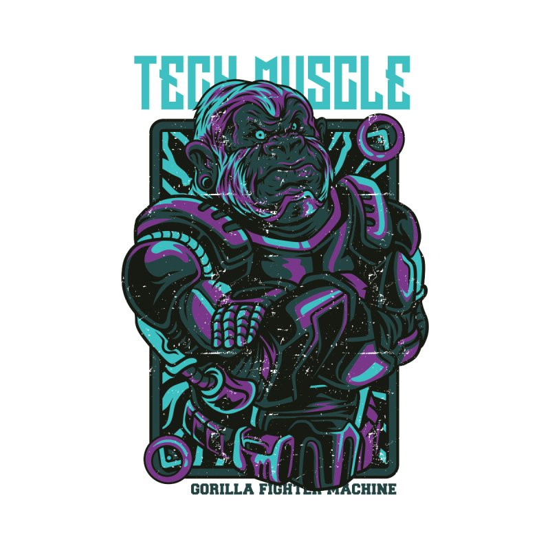 Tech Muscle by teelity's Shop