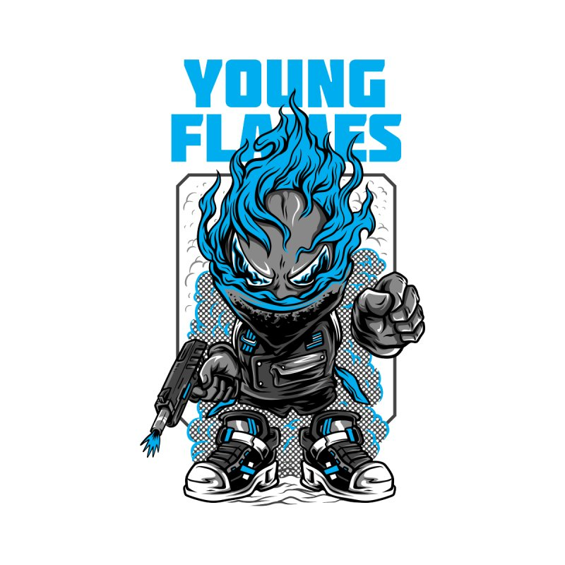 Young Flames by teelity's Shop