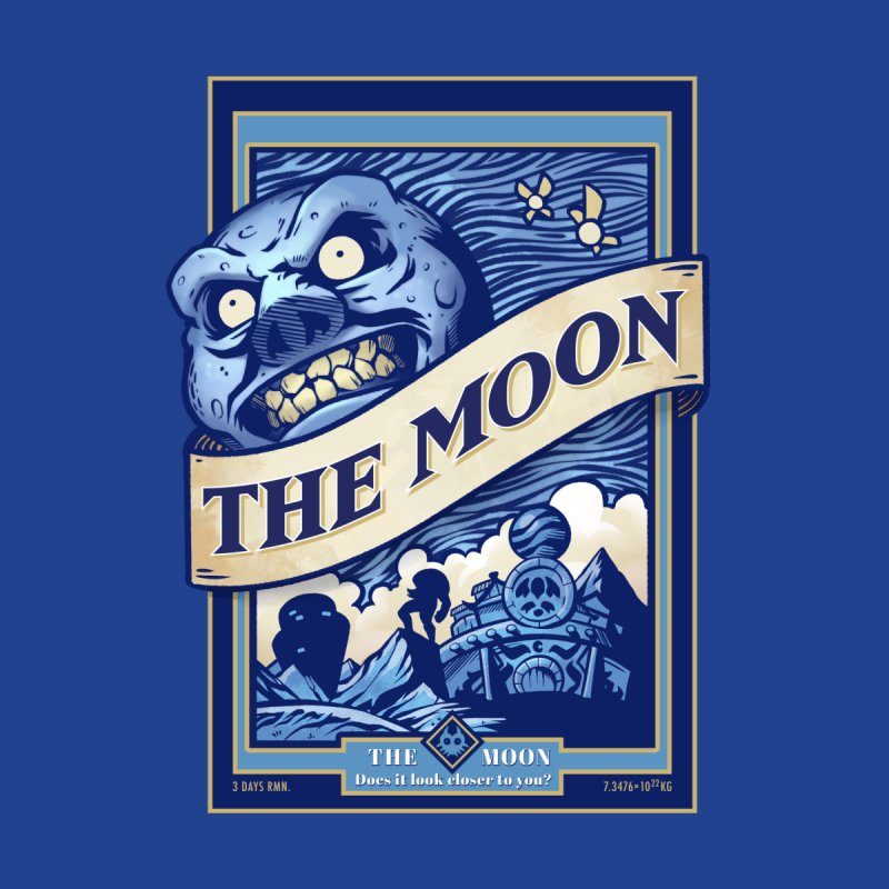 Majora's Blue Moon Men's T-Shirt by TeeMaki