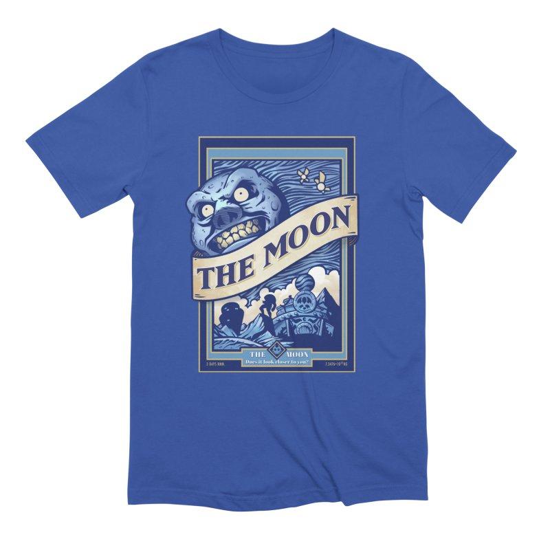 Majora's Blue Moon Men's T-Shirt by TeeMaki