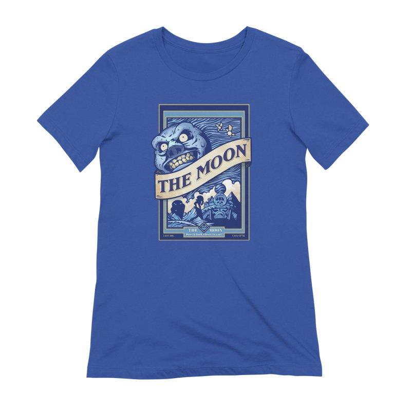 Majora's Blue Moon Women's Extra Soft T-Shirt by TeeMaki